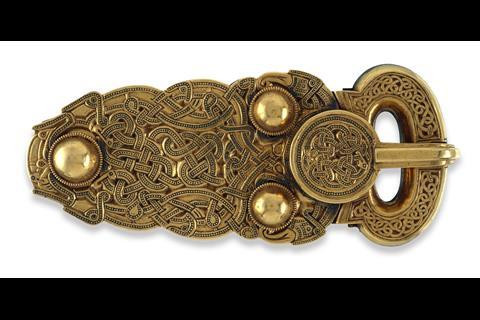 The Sutton Hoo belt- buckle